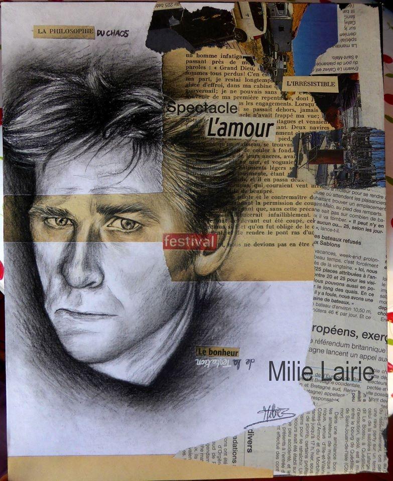 Hubert-Félix Thiéfaine by Milie